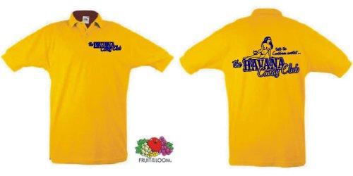 world-of-shirt Herren Polo Shirt Havana Candy Club Cuba