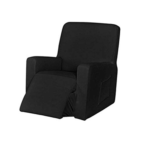 Recliner Slipcover 1-Pieces Sofa Cover Chair Recliner Cover Stretch Furniture Protector Slipcover with Pockets