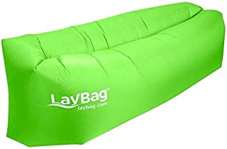 LayBag Inflatable Air Lounge, Green [並行輸入品]
