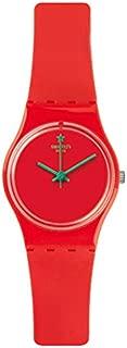 Swatch Women's LO108 Camorange Year-Round Analog Quartz Orange Watch