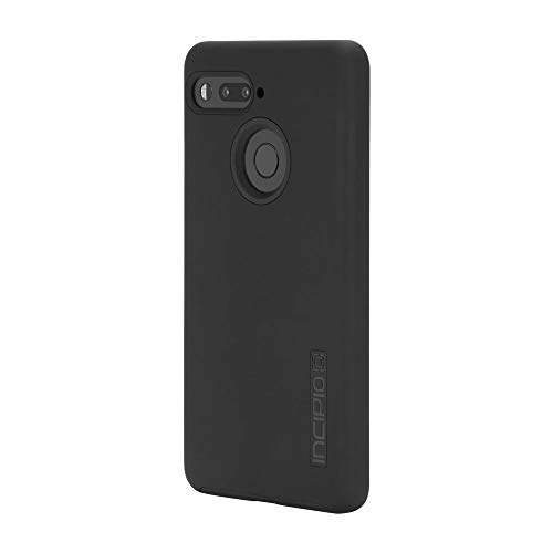 Essential Phone Case, Incipio Essential PH-1 Case DualPro Shockproof Hard Shell Hybrid Rugged Dual Layer Protective Outer Shell Shock and Impact Absorption Cover - Black
