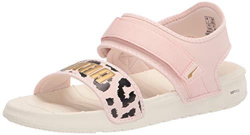PUMA womens Softride Slide Sport Sandal, Marshmallow-cloud Pink-gold, 5.5 US