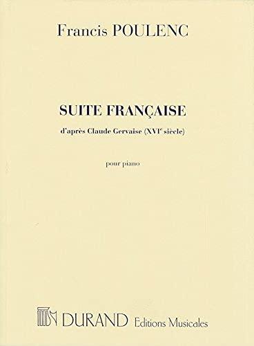 Suite française (d'après Claude Gervaise) --- Piano