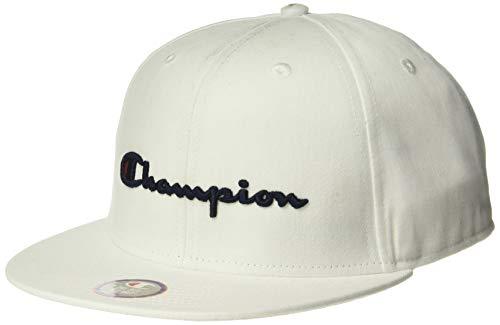 Champion Life Herren Snapback Hat with Script Baseball Cap, weiß, Einheitsgröße