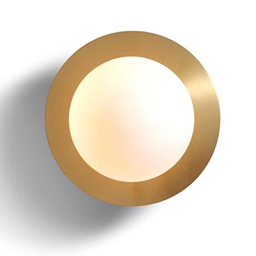 Luminaires & Eclairage / Luminaires intérieur / Ap Lampe murale de salon ronde simple moderne lampe de cuivre Creative lampe de chevet lampe de chevet au plafond allée A+