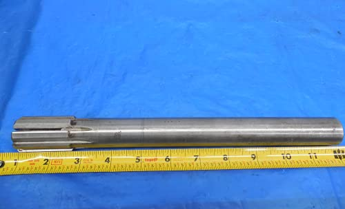 """Cleveland About 1.164 O.D. HSS Carbide Tipped Expansion Reamer 1"""" Shank 8 Flute - MS2430BU"""