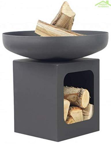 Farmcook Feuerschale PAN 14 Stahl unlackiert 60cm, Feuerstelle