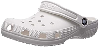 Crocs Kids' Classic Clog, White, 1 M US Little Kid