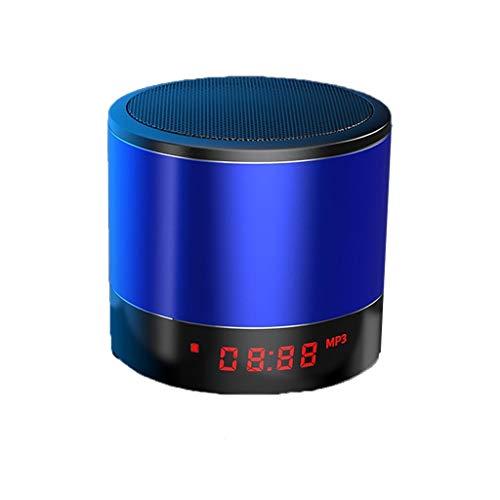 Altavoz Bluetooth Wireless Mini Bocina Bluetooth De Subgraves Inicio Alquiler Alto Volumen del Altavoces De Sonido Envolvente 3D Jugador Al Aire Libre Altavoces Portátiles (Color : Blue)