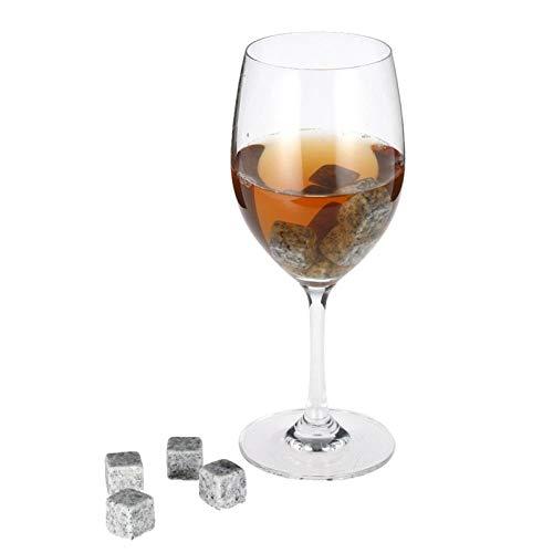 Whiskey steen natuurlijke bevroren steen graniet Whiskey steen Ice Cube wijnkast bier bruiloft cadeau kerstbar benodigdheden Spot 6 Stk
