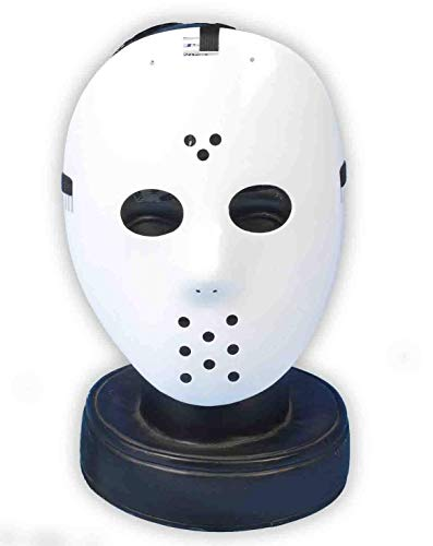 Blanc Masque de hockey Jason Halloween Vendredi 13th Fancy Dress
