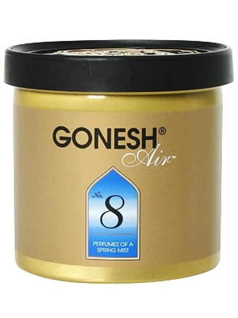 地味なアサート有害GONESH ゲルエアフレッシュナー No.8(スプリングミスト)