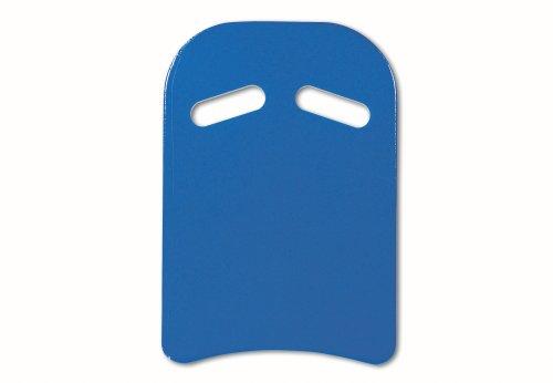 Sport-Thieme Schwimmbrett Kick mit Griffen | Kickboard, Schwimmhilfe, Schwimmtraining für Erwachsene u. Kinder | Extra starker 3-lagiger PE-Schaum | 45x32x4 cm | 100 g | Blau-Rot