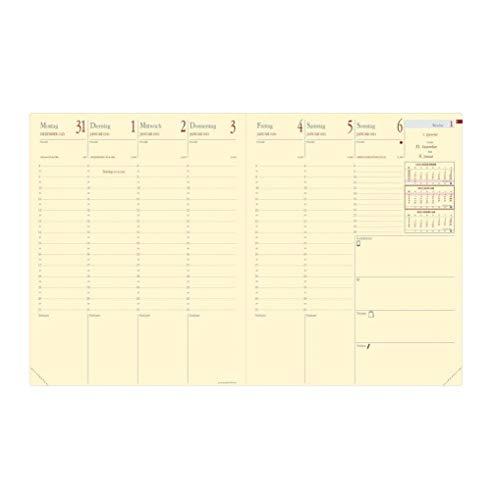 Ersatzkalender, für (Marke/Art.-Nr.) Terminkalender Pre Prestige, Sprachen D