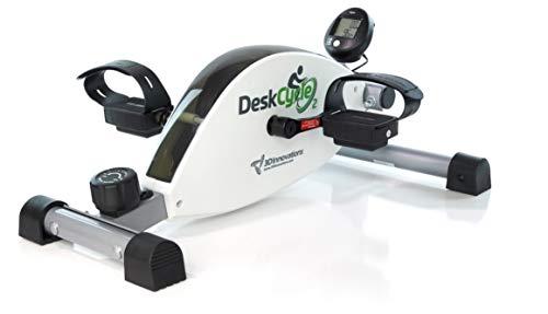 DeskCycle 2 Neu höhenverstellbar - wie unser DeskCycle bietet Premium-Low-Profile-Design-Mini-Heimtrainer für EIN belebendes Work-Workout, Glatter, flüsterleiser Magnetwiderstand.