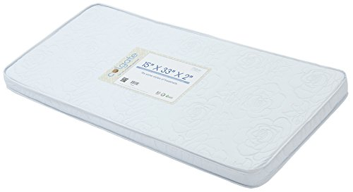 Bassinet/Cradle Mattress by Colgate Mattress | Comfortable Design | Waterproof & Non-Toxic | GREENGUARD Gold Certified | 15' X 33' X 2'