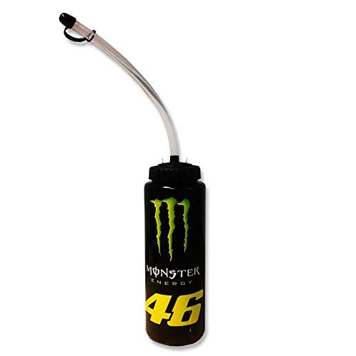 Valentino Rossi Monster Energy, Borraccia Replica 46 Unisex Adulto, Nero, 1000 ml