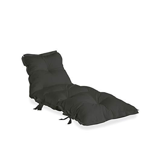 Karup Design Loungesessel und Gartenmöbel Von Karup Sit and Sleep out-Sillón y Muebles de jardín (705 x 65 x 30 cm), Color Gris Oscuro, 75x65x30