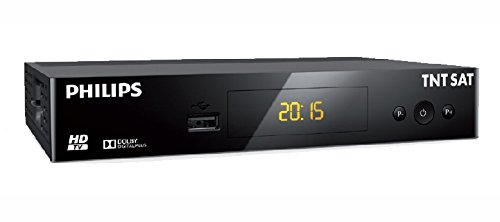 Philips TNT SAT DSR3231T Receiver, TV, HD, Satellit, Schwarz