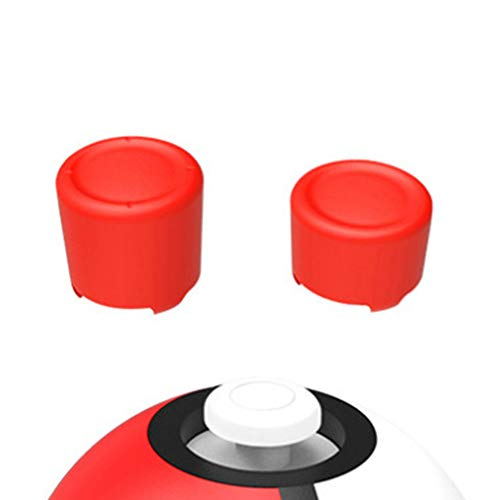 YSoutstripdu 4-in-1-Joystick-Tasten-Schutzkappe für Nintendo Switch Pokemon Pokeball Nintendo Switch Zubehör