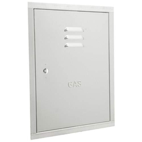 Puertas para contadores de gas, de acero galvanizado–Todos los tamaños