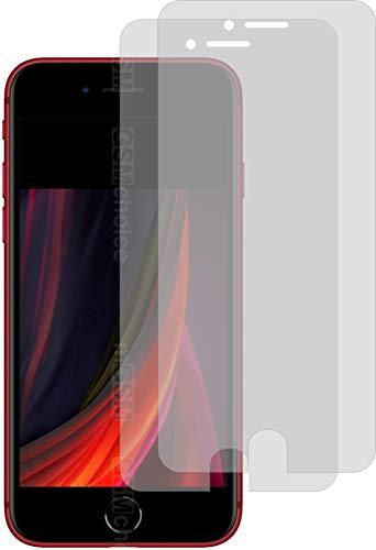 I 2X Schutzfolie KLAR passgenau für Apple iPhone SE 2020 - Bildschirmschutzfolie Schutzhülle