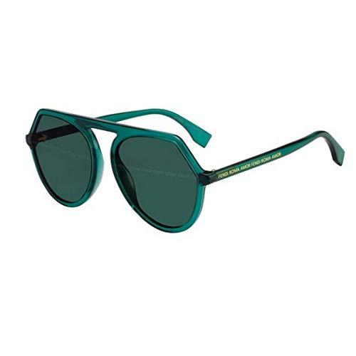 Fendi ROMA AMOR FF 0375/G/S GREEN/GREEN 57/18/140 Damen Sonnenbrillen