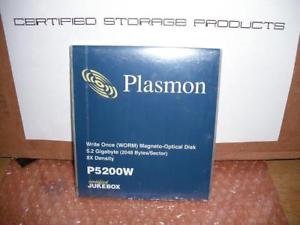 Best Bargain Plasmon P5200W Optical Disk Worm - 5.2 GB
