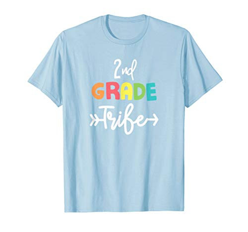 2nd Second Grade Tribe Back To School T-Shirt