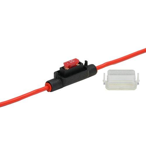 80A Stecksicherung Schmelzsicherung Auswahl AUPROTEC Maxi Flachstecksicherung 20A 50A Ampere rot 1 St/ück