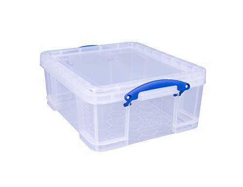 Really Useful Box 18C 18 Liter Box Transparent 480x390x200 mm PP