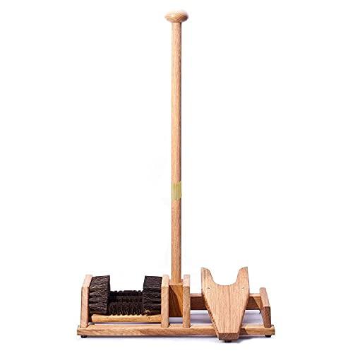 Boot Tractor / 4 Brushes - Balance Mast - Legno