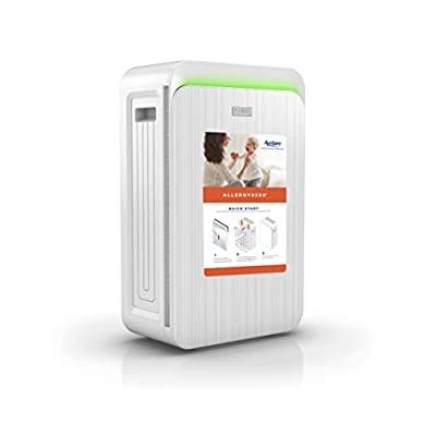 Aprilaire HEPA Type Air Purifier with 3-Stage Filtration, Ozone-Free