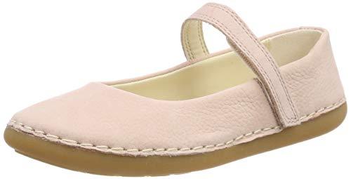 Clarks Mädchen Skylark Tap K Geschlossene Ballerinas, Pink (Pink Sparkle Leather), 33 EU