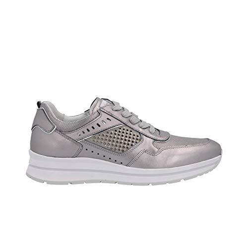 Nero Giardini Sneakers Grigio Scarpe Donna P907542D 35