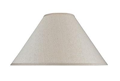 Aspen Creative Transitional Hardback Empire Shape Spider Construction Lamp