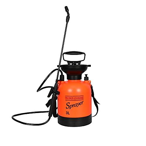 0.8 Gallon Lawn and Garden Pump Pressure Sprayer with Pressure Relief Valve...