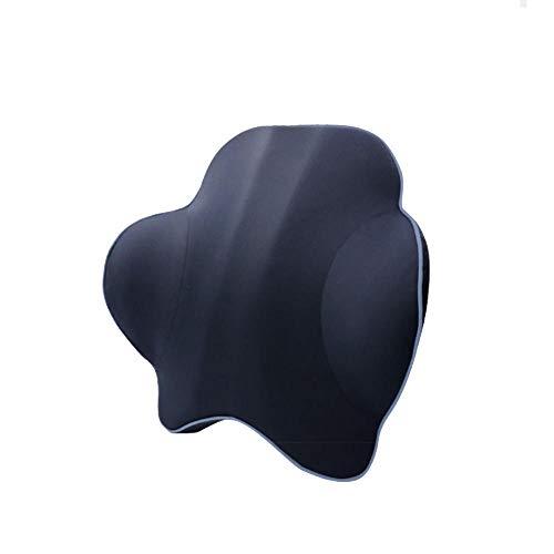Novhome Almohadilla Lumbar Silla Oficina, Almohada para AutomóVil Soporte para la Espalda Lumbar de Espuma ViscoeláStica para Silla de Oficina Asiento de AutomóVil Silla para Aliviar el Dolor Lumbar