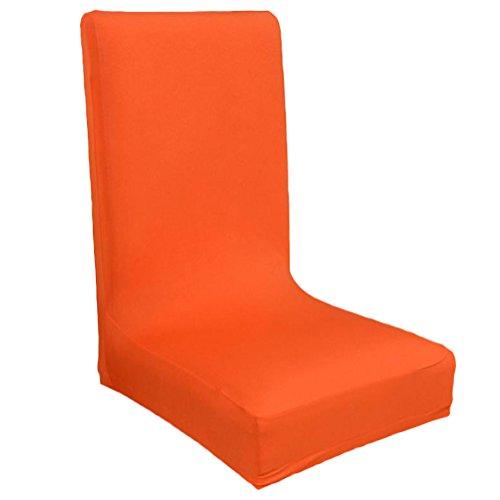 Kentop stuhlhussen Stretch–Silla (elásticos Funda elástica Funda Silla BI Elastic–Funda Protector Antimanchas husse (Naranja)