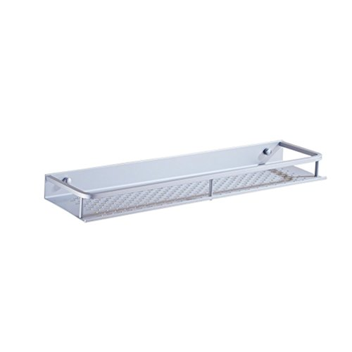 WLH- Space Aluminium badkamer plank Eenlaags badkamer muur Toilet Storage Shelf Washroom Shelf (Size : 50cm)