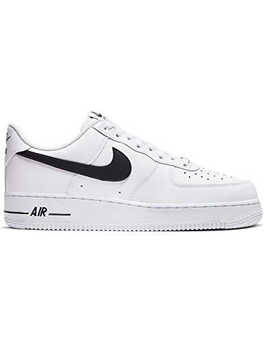 Nike Air Force 1 '07 AN20, Zapatillas de básquetbol para Hombre, White Black, 43 EU