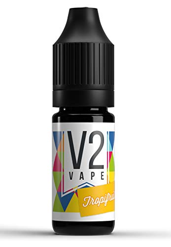 V2 Vape Tropifruit AROMA / KONZENTRAT hochdosiertes Premium Lebensmittel-Aroma zum selber mischen von E-Liquid / Liquid-Base für E-Zigarette und E-Shisha 10ml 0mg nikotinfrei