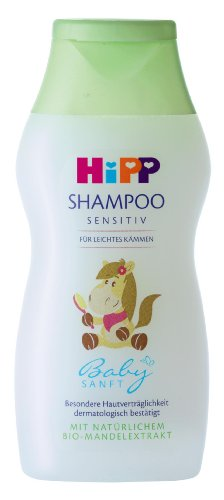 HiPP Babysanft Shampoo für leichtes Kämmen, 2er Pack (2 x 200 ml)