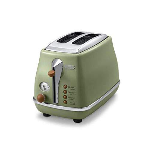 NXYJD Máquina de Pan, tostadoras de Pan Compacto con los ajustes de Acero Inoxidable de Vivienda