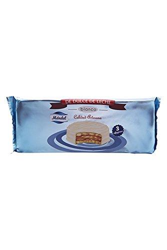 3 x Mardel Chocolate Blanco Alfajores (dulce de leche sándwiches)