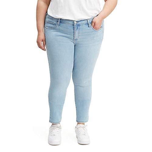 Levi's Mujer Pantalones vaqueros ajustados talla grande 711 Jeans - Azul - 24 US
