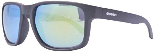 Ocean Sunglasses - Blue Moon - lunettes de soleil polarisées - Monture : Noir Mat - Verres : Revo Jaune (19202.7)