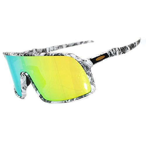 WOXING Ligeras Clásico Polarizadas Vintage Gafas De Sol,Aire Libre Deportes Deportivas Golf Mujere Hombre Gafas,Ciclismo Deportivas Gafas-Negro 14.7x5.7cm(6x2inch)