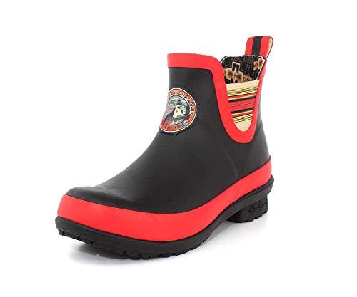 Pendleton Women's Heritage National Park Chelsea Ankle Length Slip-Resistant Rain Boot, Acadia Black, Size 7