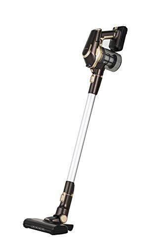 ツカモトエイム コードレス スティッククリーナー ディタッチャブル サイクロン式 パワーブラシ 2WAY 軽量 AIM-SC925(BR) ブラウン